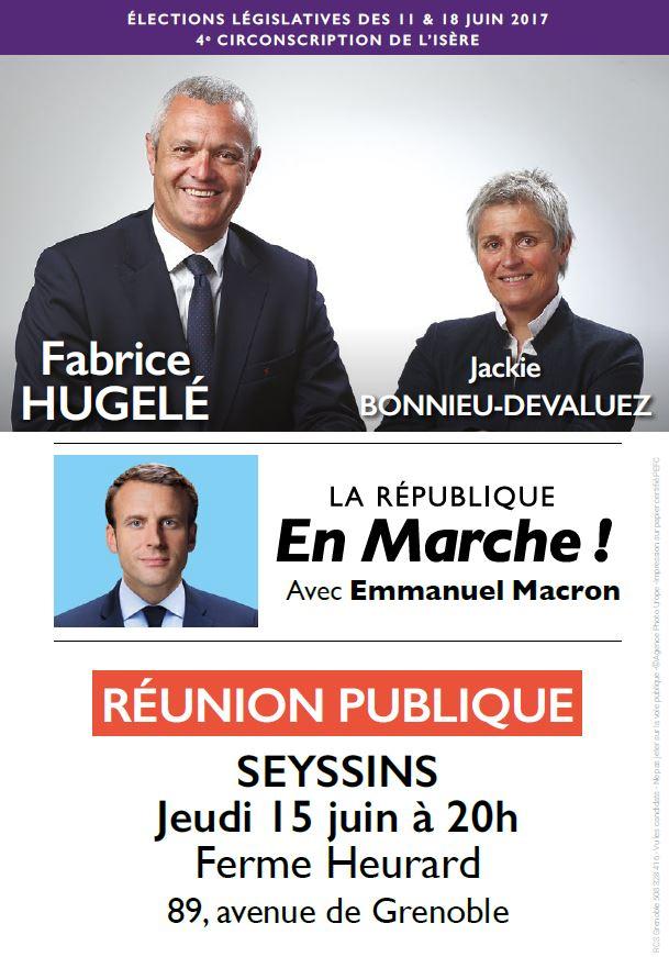Réunion publique jeudi 15 juin à Seyssins